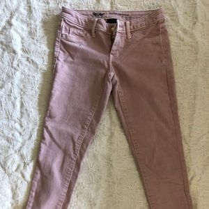 Mossimo cropped skinny jeans